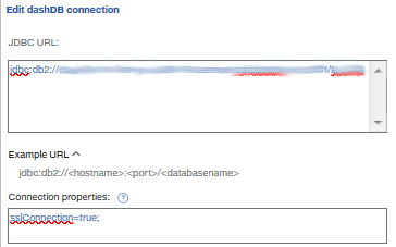 Add SSL Connection properties