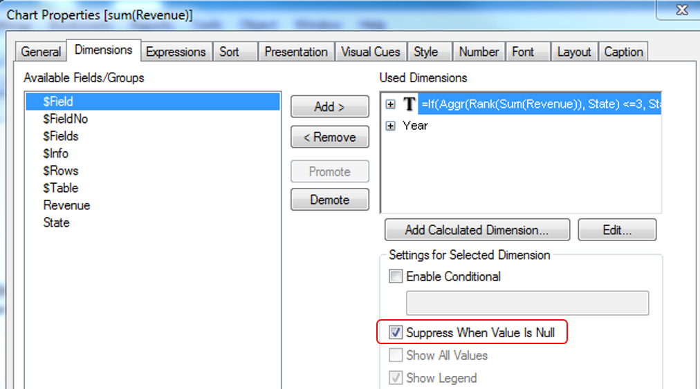 Showing top x values in a pivot table ecapital advisors for Pivot table design qlikview