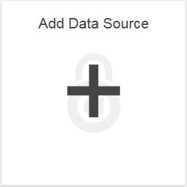Add Data Source tile in IBM Planning Analytics