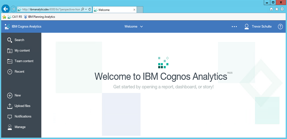 Cognos Analytics 11 Themes and Extensions | eCapital Advisors