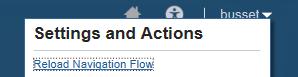 Reload Navigation Flow in Oracle PBCS