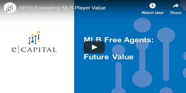 SPSS Evaluating MLB Player Value
