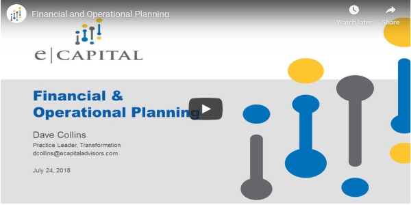 financial operational planning