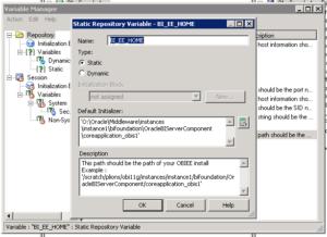 OBIEE 12c: Simple Demo Dashboard Error | eCapital Advisors