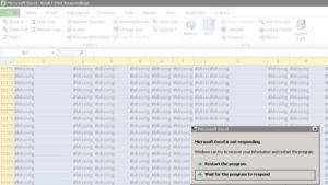 Oracle Smart View Retrieve tips - Excel crash