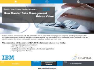 Free Webinar: How IBM MDM Drives Value | eCapital Advisors