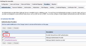 OBIEE LDAP Configuration - MSAD link settings