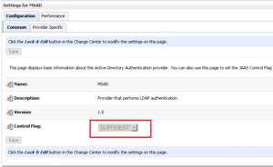 OBIEE LDAP Configuration - provider specific tab