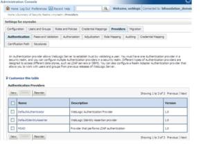 OBIEE LDAP Configuration - Default Authenticator
