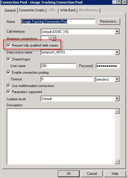 OBIEE 11g SQL Server Invalid Syntax | eCapital Advisors