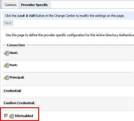 Connecting Weblogic Server to LDAP SSL Provider | eCapital Advisors