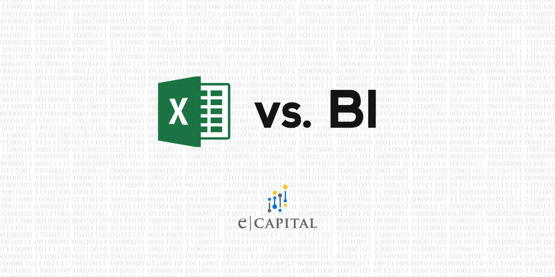 Data Analysis in Excel vs. Business Intelligence