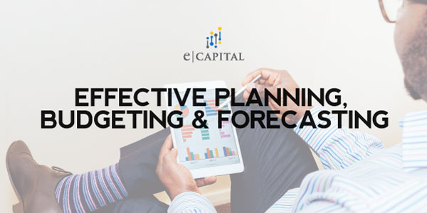 Effective Planning, Budgeting And Forecasting For Business