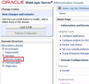 OBIEE LDAP Configuration - security realms